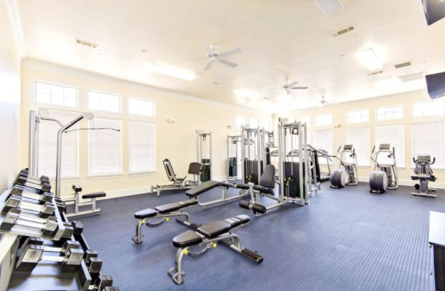 fitness center the woodlands