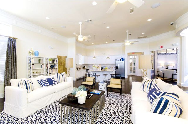 trendy apartment in the woodlands