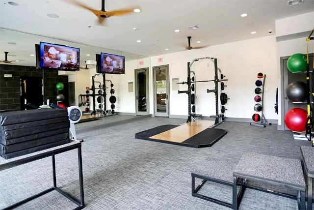 top of the line fitness center